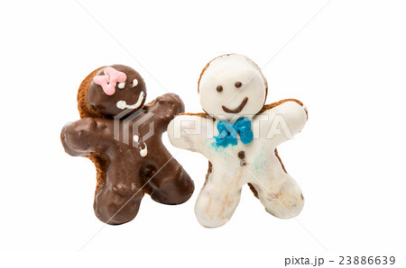 cookies man in the glazeの写真素材 [23886639] - PIXTA