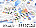 グラフ データ 資料のイラスト 23897128