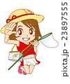 虫取り 女の子 23897555