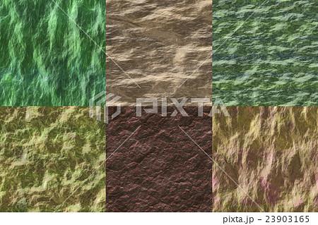 Set of wet stone seamless generated texturesのイラスト素材 [23903165] - PIXTA
