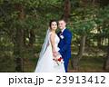 結婚 屋外 ウェディングの写真 23913412