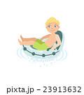 少年 山車 浮くのイラスト 23913632