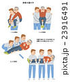 地震 災害 患者の運び方 23916491