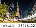 東京スカイツリー ライトアップ スカイツリーの写真 23918122