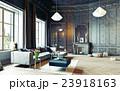 black living room 23918163