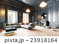 black living room 23918164
