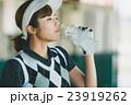 Japanese woman golfer , housewife 23919262