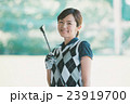 Japanese woman golfer , housewife 23919700