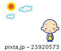 僧侶 お坊さん ベクターのイラスト 23920573