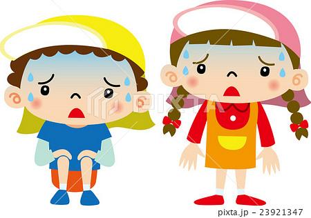 体調の悪い子供 23921347