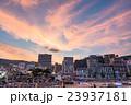 【静岡県】熱海・ホテル街とサンビーチの夕暮れ 23937181