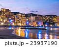 【静岡県】熱海・ホテル街とサンビーチのライトアップ 23937190