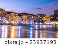 【静岡県】熱海・ホテル街とサンビーチのライトアップ 23937193
