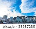 【静岡県】熱海・ホテル街とサンビーチの夕暮れ 23937235