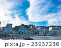 【静岡県】熱海・ホテル街とサンビーチの夕暮れ 23937236