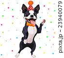 わんこ 犬 パーティーのイラスト 23940079