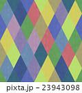 おしゃれで風合いのあるシックな色合いのカラフルダイヤ柄シームレス(連続・繋がる)パターン 背景素材 23943098