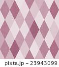 おしゃれで風合いのあるレトロなダイヤ柄シームレス(連続・繋がる)パターン 赤系 背景素材 23943099