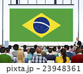 Brazil National Flag Seminar Business People Concept 23948361