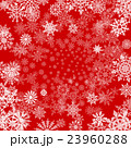 vector red background with snowflakes 23960288