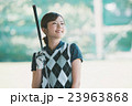 Japanese woman golfer , housewife 23963868