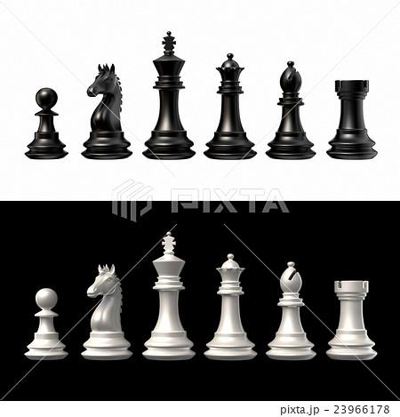 チェスの駒のイラスト素材 [2396...