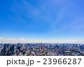 【東京都】東京タワーと街並み 23966287