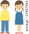 男の子 女の子 子供のイラスト 23967064
