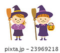 ハロウィン 魔女 ベクターのイラスト 23969218