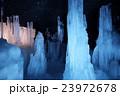 鳴沢氷穴の氷 23972678