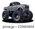 Cartoon Monster Truck 23984804