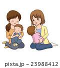ママ友 人物 子育てのイラスト 23988412