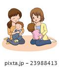 ママ友 人物 子育てのイラスト 23988413