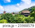 京都 世界遺産 清水寺 全景 23988579