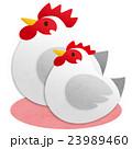 鶏 酉 鳥のイラスト 23989460