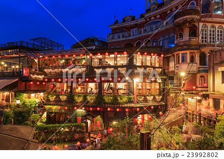 台湾九份夜景 23992802