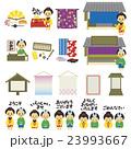 お店 江戸時代風 素材セット 日本語版 23993667