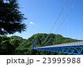 橋 竜神大吊橋 吊り橋の写真 23995988