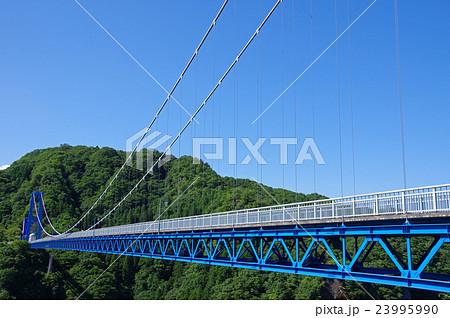 夏の竜神大吊橋 23995990