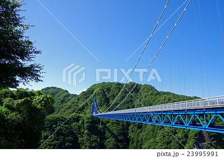 夏の竜神大吊橋 23995991