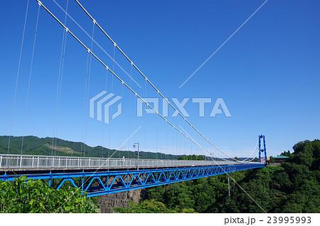 夏の竜神大吊橋 23995993