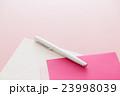 便箋と封筒 手紙 ピンクバック 23998039
