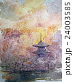 奈良 猿沢の池のスケッチ 24003585