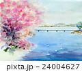 春の小川 スケッチ 24004627