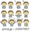 幼稚園 男児 表情 24007907