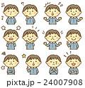 幼稚園 男児 表情 24007908