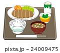 トンカツ定食 24009475