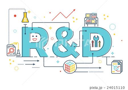 R&Dのイラスト素材 [24015110] -...