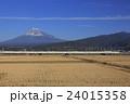 富士山と東海道新幹線N700系 24015358