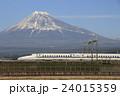 富士山と東海道新幹線N700系 24015359